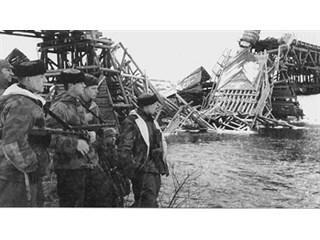 «Сарненский крест» на немецких планах
