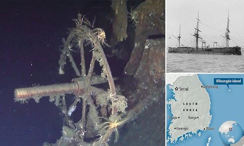 Дайверы нашли русское судно …