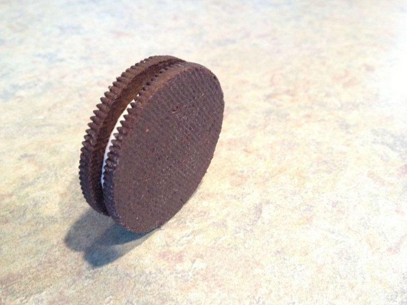 11. Печенька «Oreo», изготовленная наоборот в интернете, неожиданно, непонятно, подборка, странно, странные фото, фото
