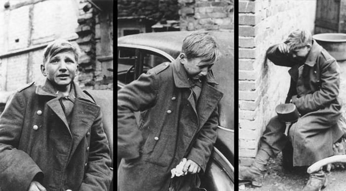 2. Плачущий мальчик-солдат история, ужас, фотографии