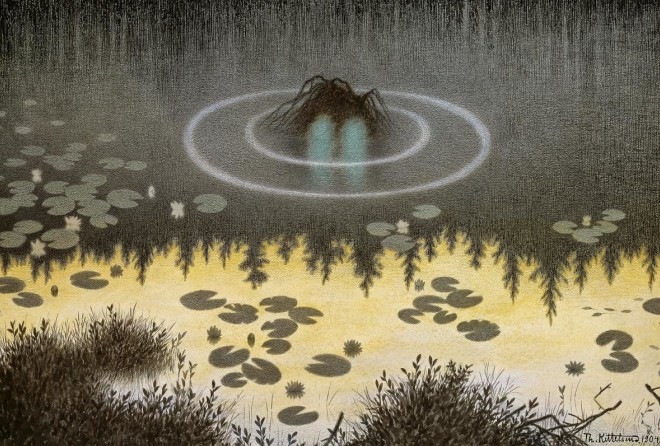 История Киттельсена, самого загадочного и мрачного художника Норвегии