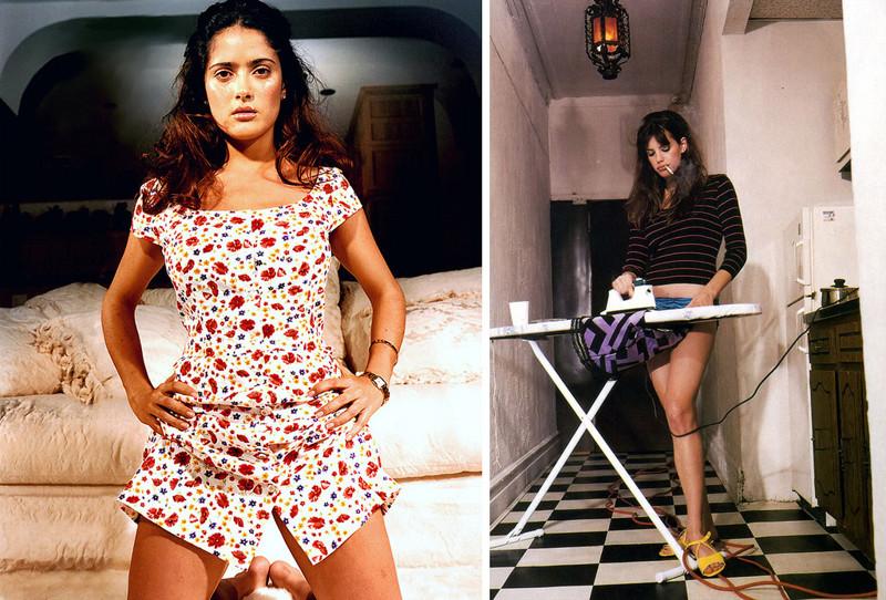 Сальма Хайек и Лив Тайлер беттина реймс, женщины, знаменитости, красота, тело, фигура, фотограф
