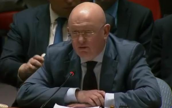 Небензя на заседании ООН уст…