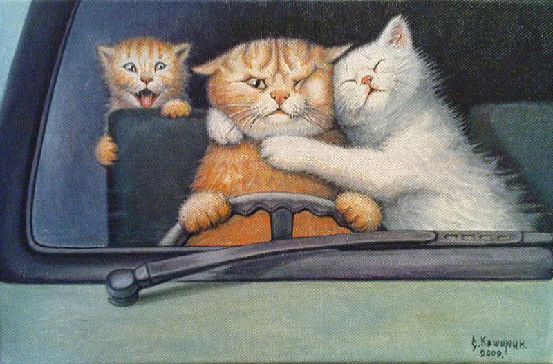 Коты бывают разные ...