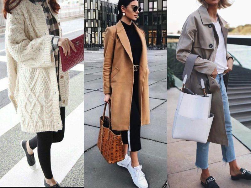 5 интересных осенних образов 2019 с обувью без каблуков