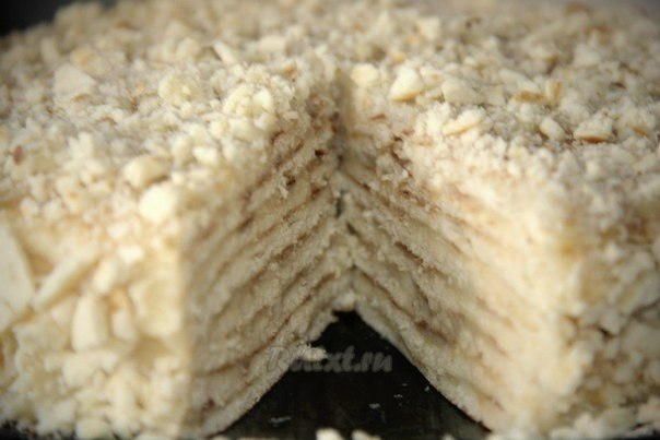"""Торт """"Минутка"""" (без выпечки в духовке)"""