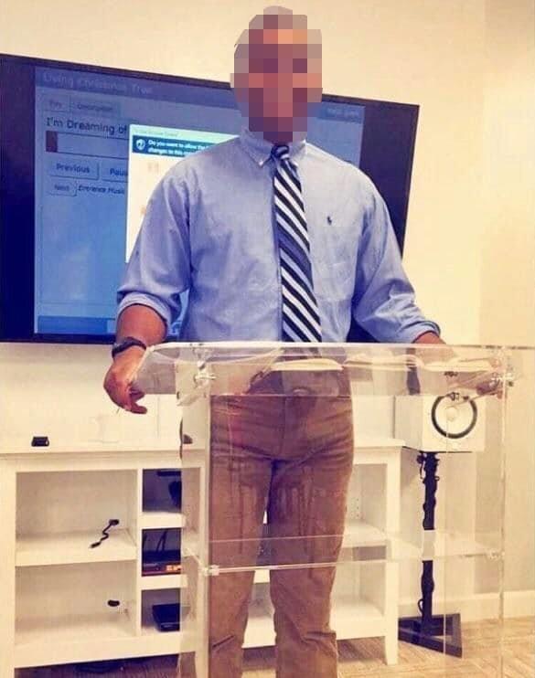 3. Этот мужчина не намочил штаны и такое бывает, обман зрения, приколы, смешные фото, смешные фотографии, странные фото, юмор
