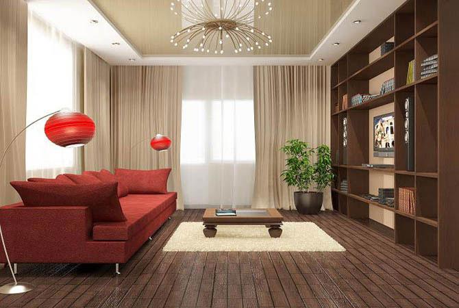 Гостиная в малогабаритной квартире фото