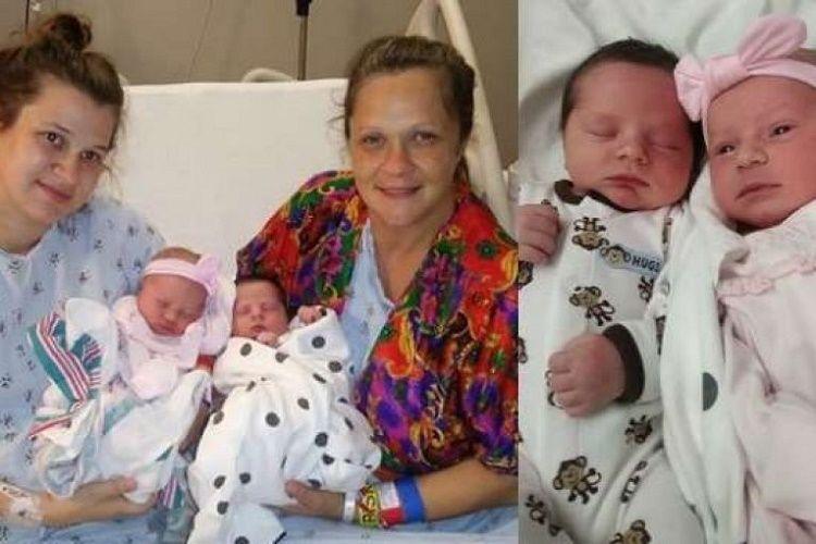 Мать и дочь родили в один и тот же день в одной клинике