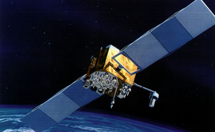 Спутник GPS.
