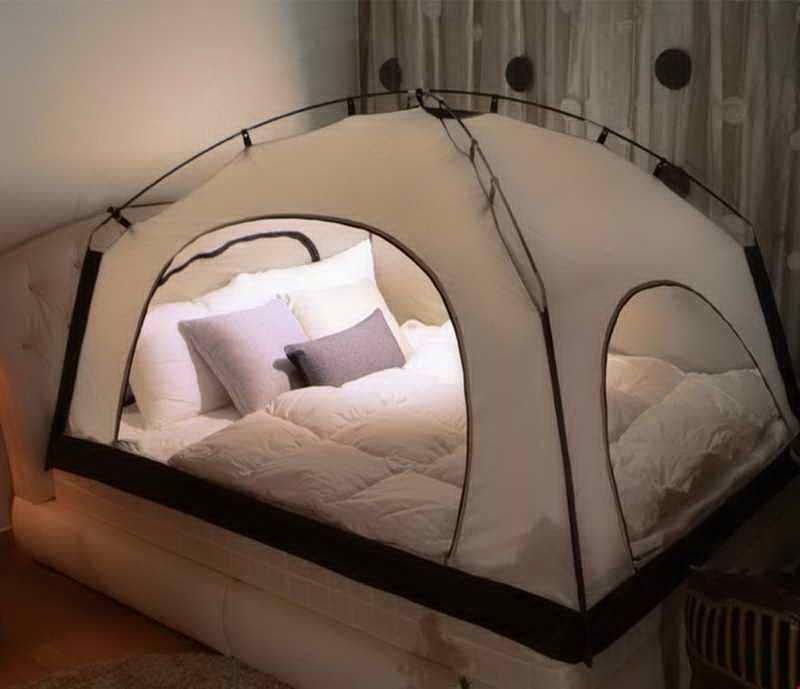 Кровать-палатка дача, идеи для дачи, мужская пещера, сделай сам