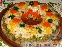 Фото приготовления рецепта: Праздничное заливное - шаг №4