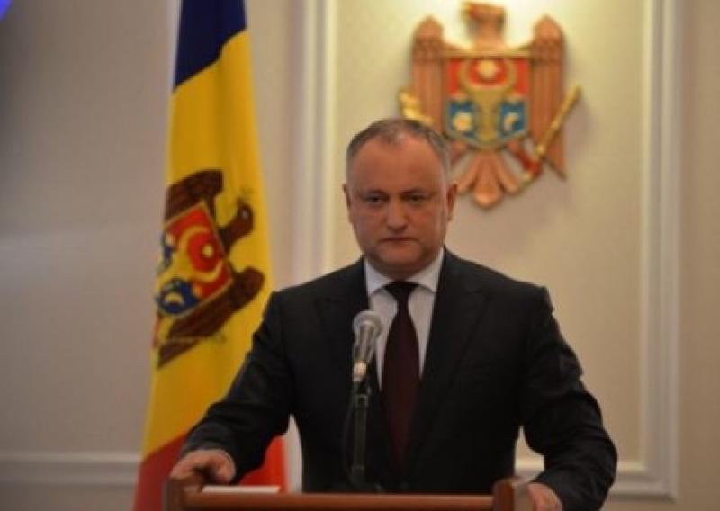 Президента Молдовы Игоря Додона отстранили от должности