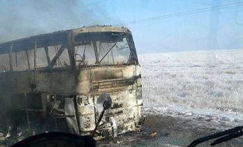 В МВД Казахстана высказались о трагедии с автобусом