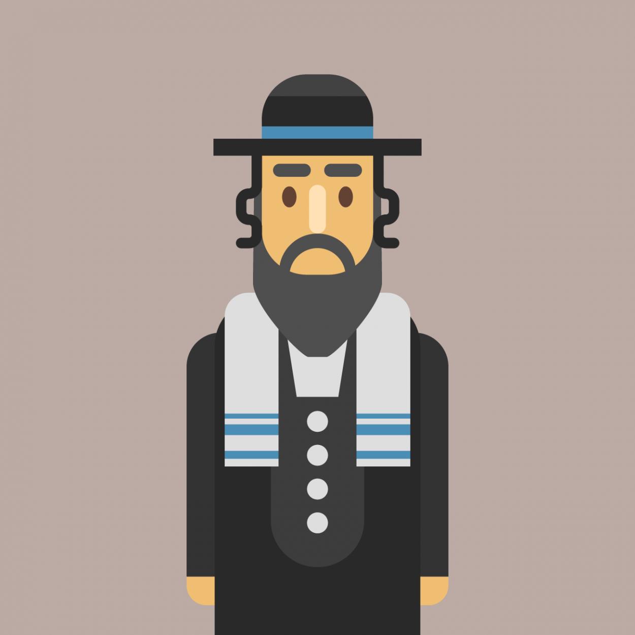 Анекдот про то, как старый еврей учил своего сына просить вернуть долг