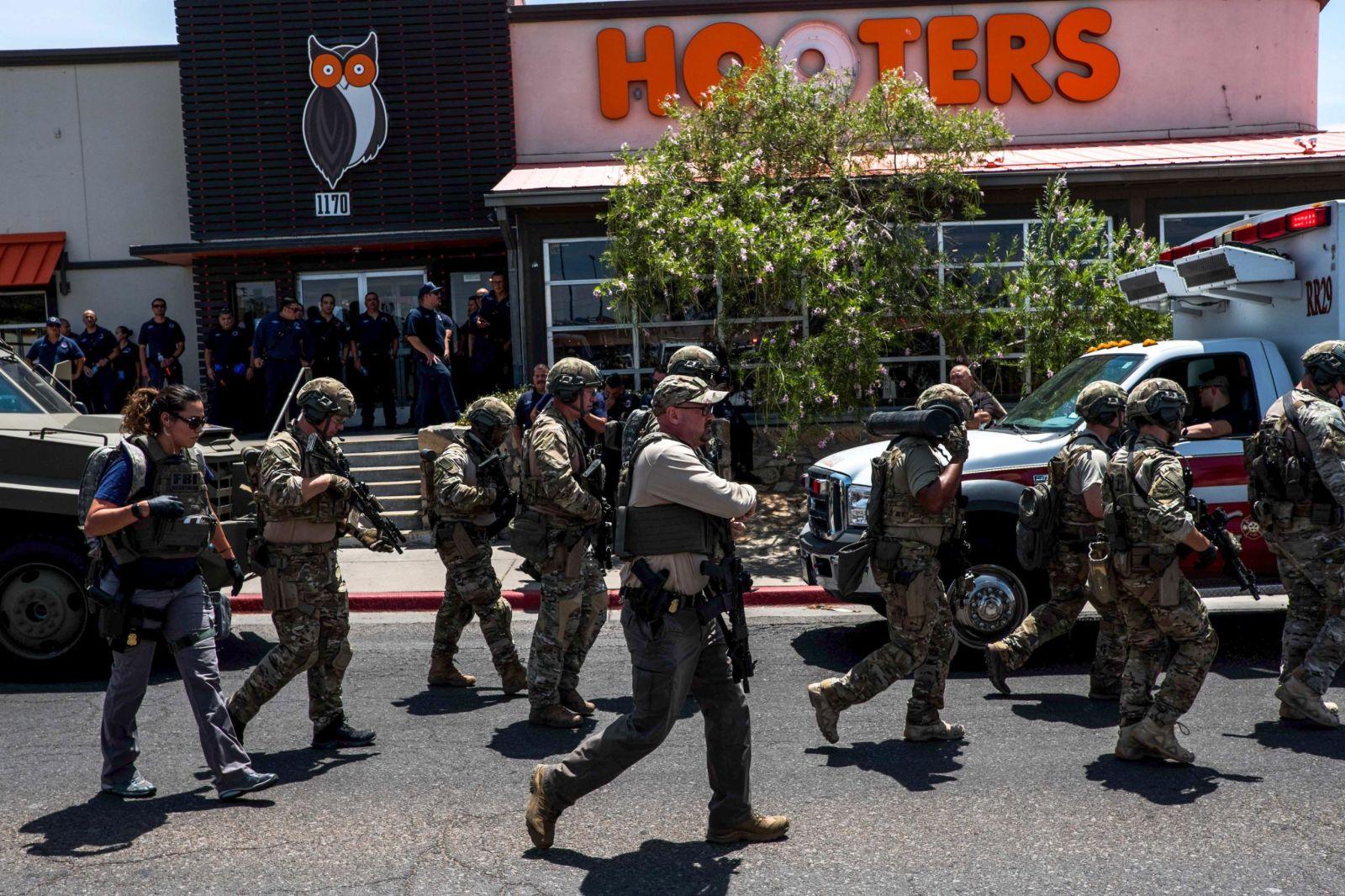 Массовые расстрелы в США