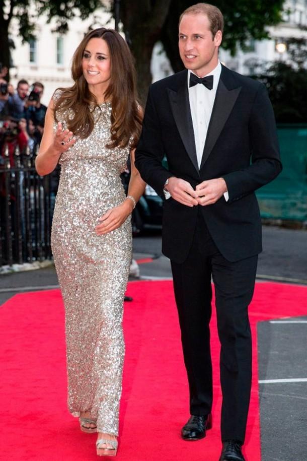 Королевский выход: Вечерние платья Герцогини Кембриджской Кэтрин