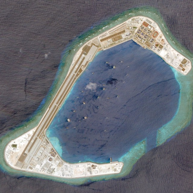 Китай закрепляется на Южно-Китайском море