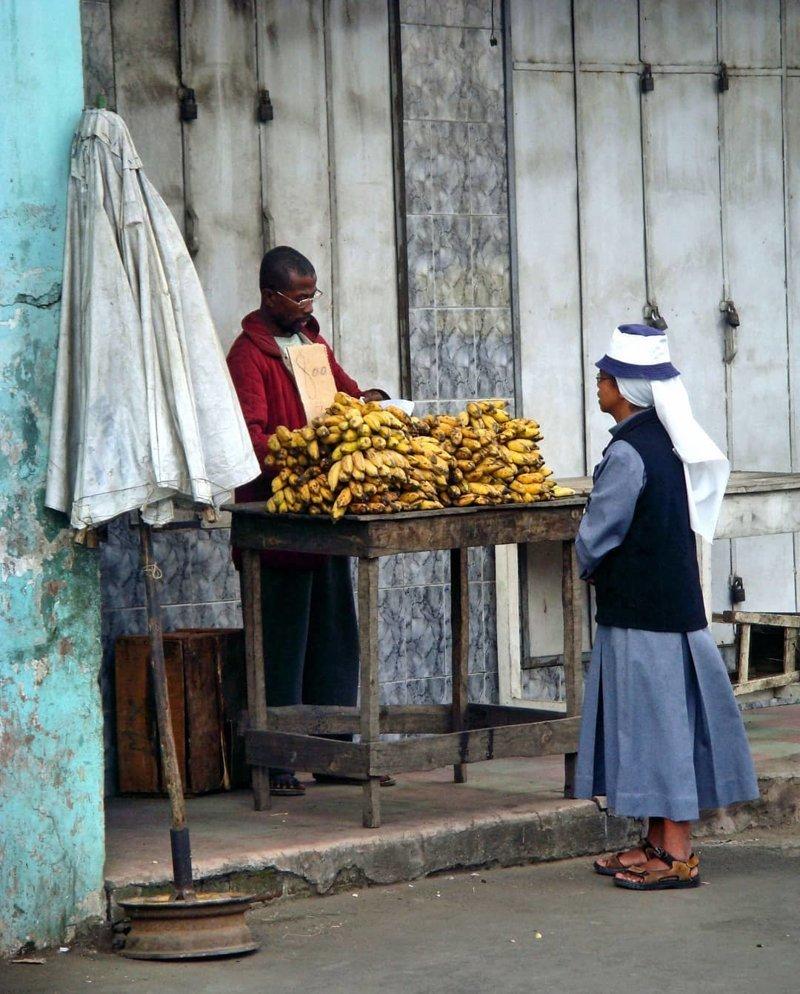 Бананы — это второй хлеб. Антананариву, африка, беднейшие страны, города Мадагаскара, мадагаскар, путешествие, столица Мадагаскара, столицы