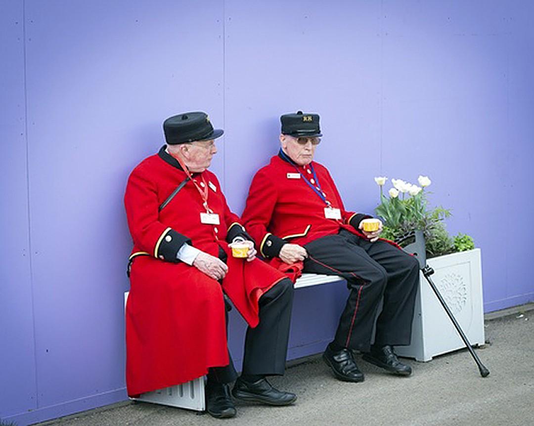 Завершают рейтинг как ни странно, пенсионеры Великобритании Фото: EAST NEWS