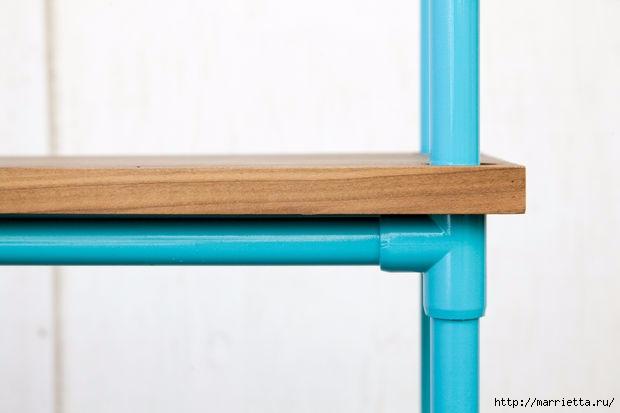Своими руками. Этажерка из полимерных труб ПВХ (25) (620x413, 62Kb)