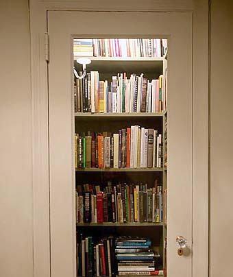 библиотека в кладовке