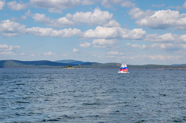 Южный Урал. оз. Тургояк. Лето 2012