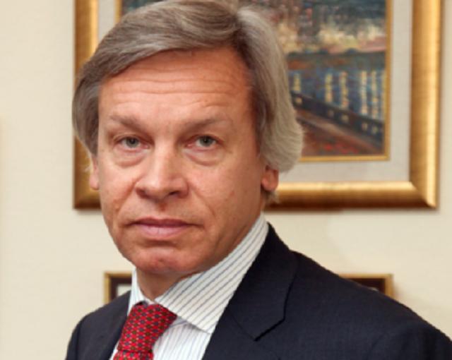 Пушков: украинская модель выпрашивания денег у Запада идет ко дну