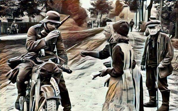 «Этой русской женщине не понадобилось никакого оружия,чтобы разделаться с ротой немецких солдат»