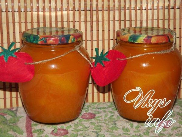 Желтые помидоры в собственном соку на зиму