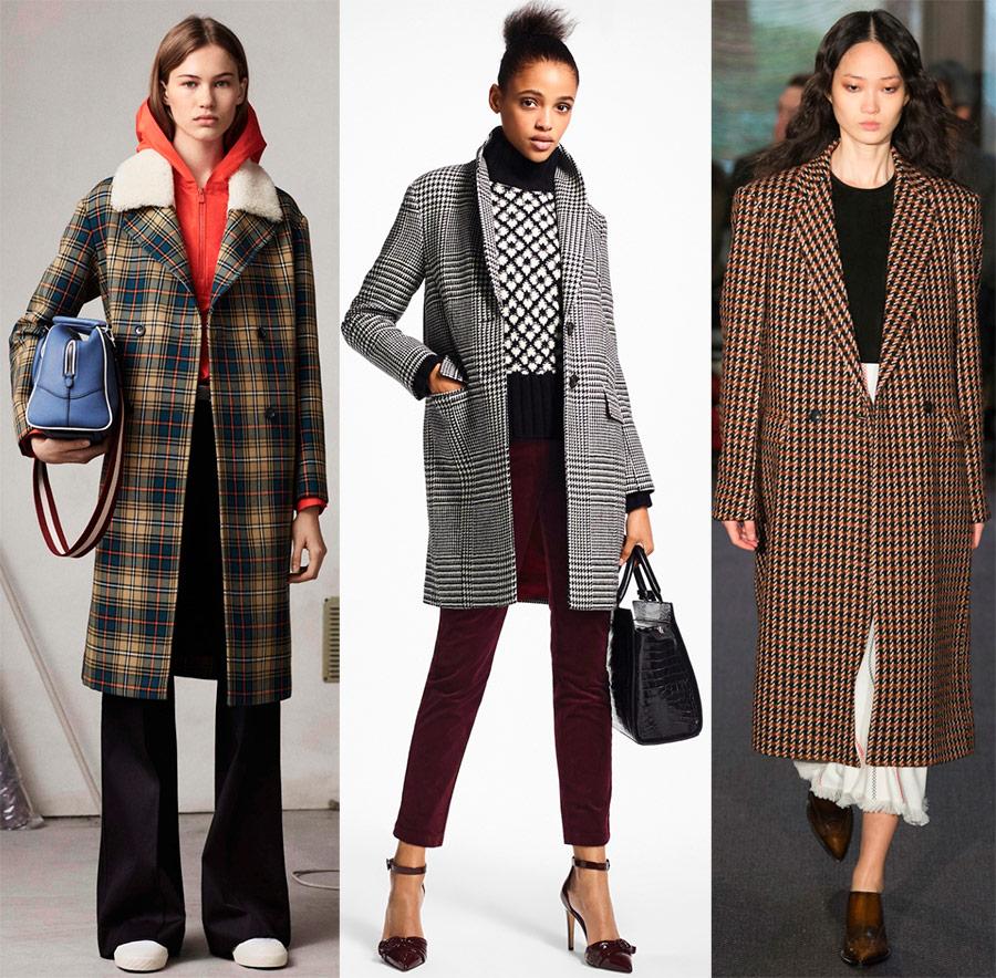 Стильная осень: пальто в клетку