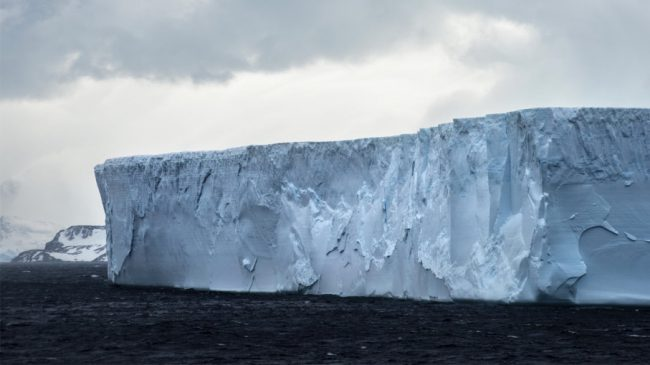Год назад от Антарктиды отко…