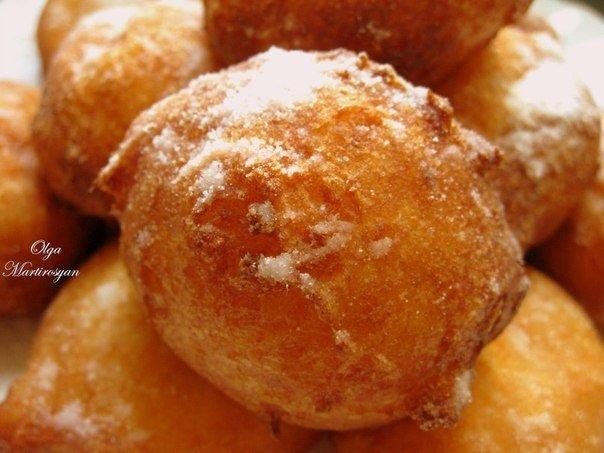Рецепт дня! Пончики «Московские» из творога