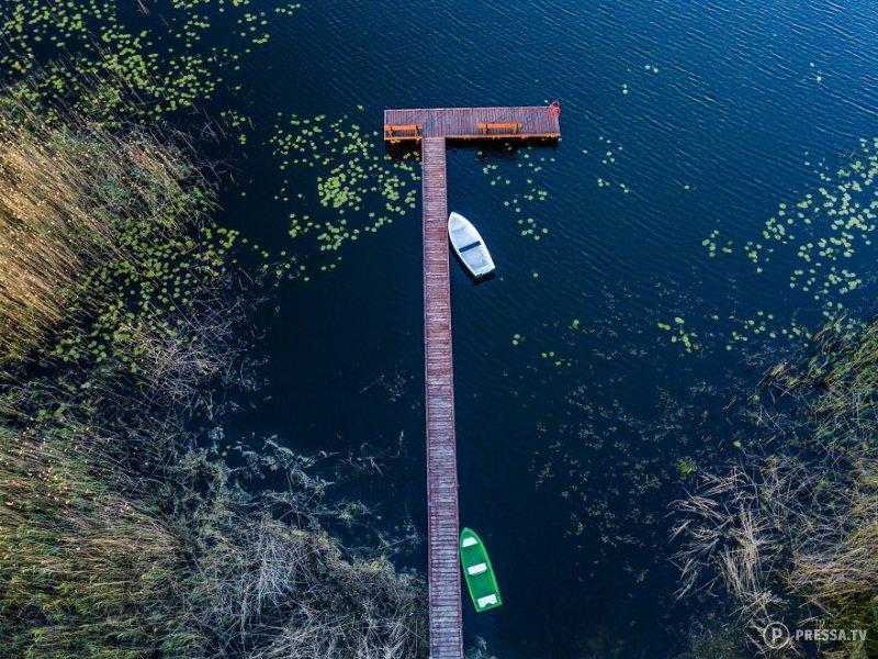 Великолепные фотографии польских пейзажей, сделанные дронами