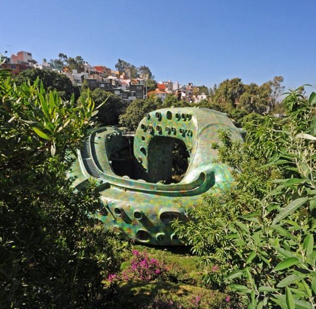 Гнездо Кетцалькоатля – дом-змея в Мексике