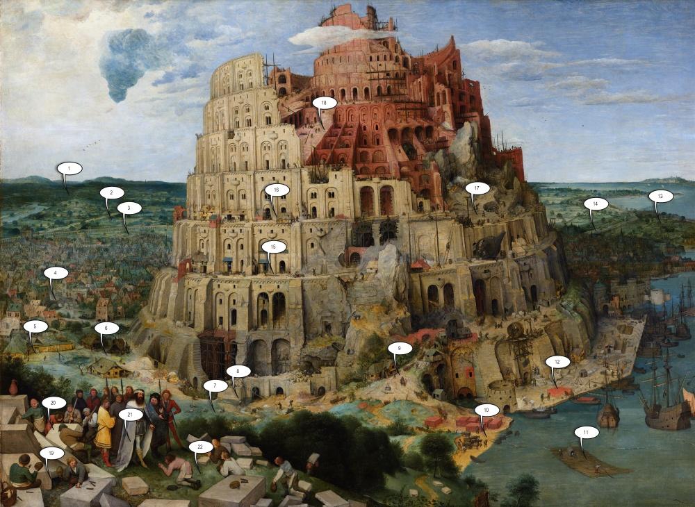 <br />Дальний план 1. Замок, речка, ветряная мельница, поля и горы.»/> <p style=