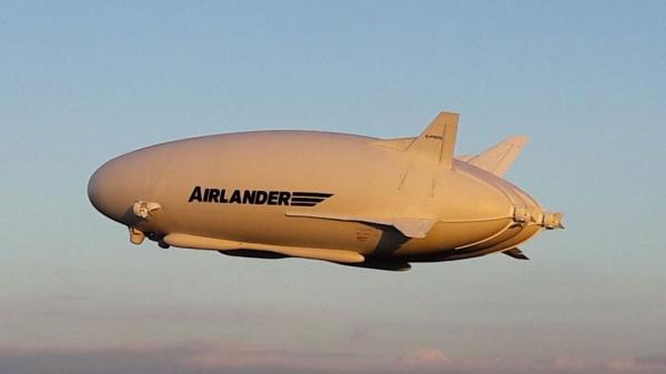 Самое большое воздушное судно вмире разбилось вВеликобритании