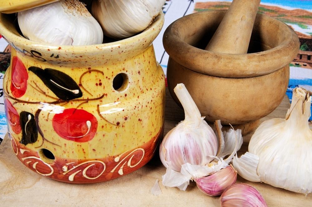 Необычные заготовки и приправы из чеснока