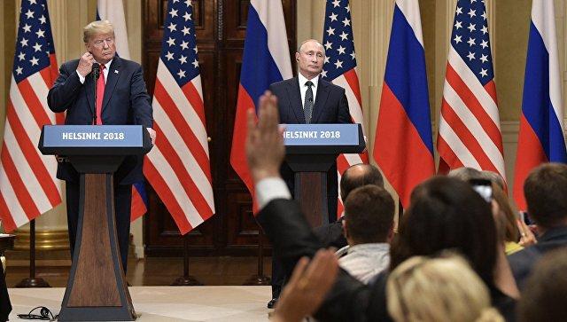 Импичмент за встречу с Путин…