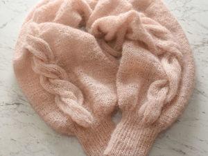 Модный и эффектный аксессуар: шаль-рукава своими руками