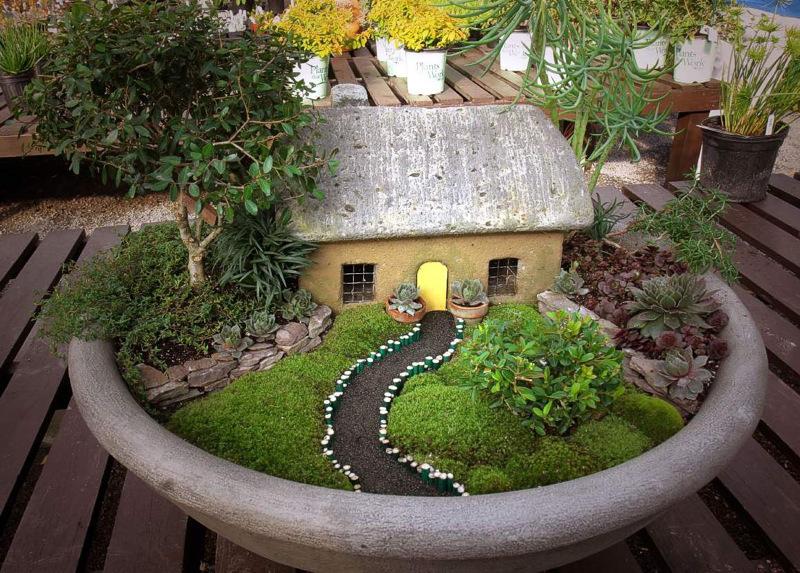 Небольшой сад своими руками фото