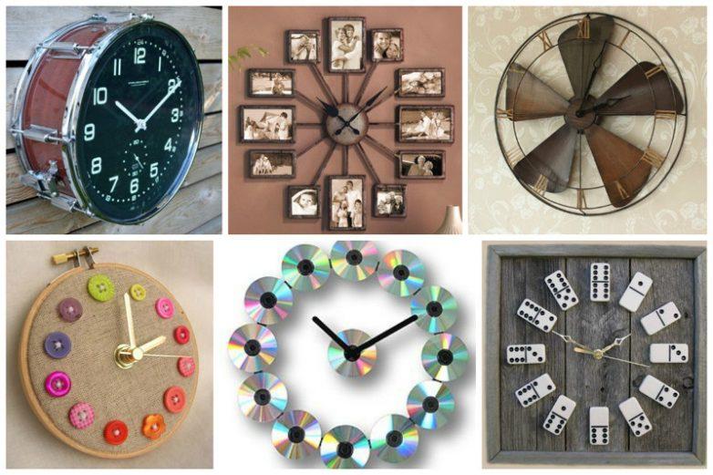 Необычные дизайнерские часы