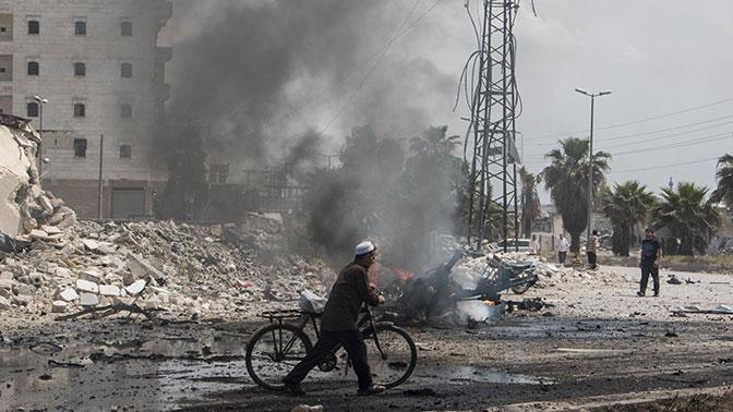 В идлибской зоне деэскалации зафиксировали нарушения режима прекращения огня