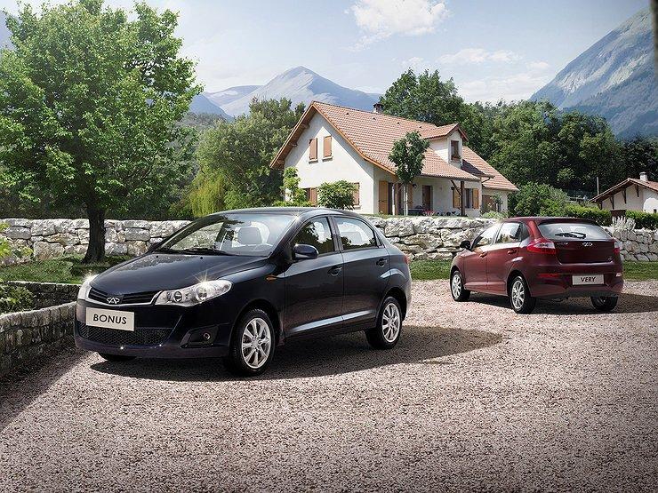Пять самых дешевых китайских машин на российском рынке