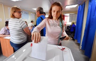 В четырех российских регионах пройдет второй тур выборов