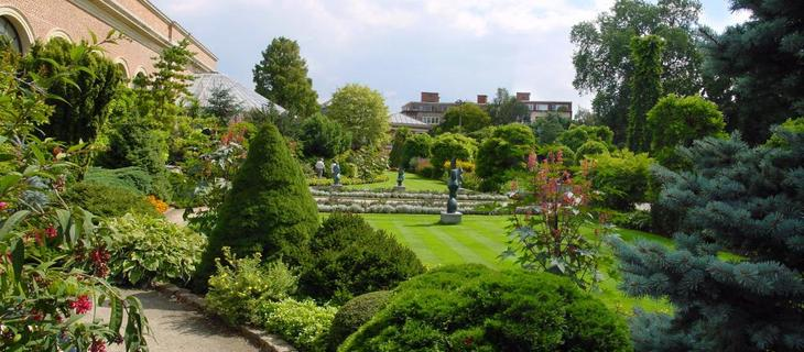 Ботанический сад в Левене