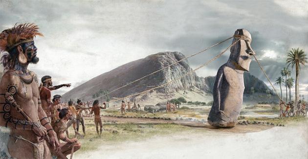 Ещё одна тайна острова Пасхи