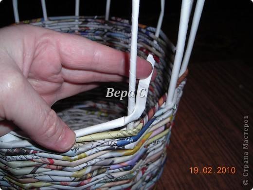 Мастер-класс Плетение: Мастер класс плетения из газеты для новичков Бумага газетная Отдых. Фото 13