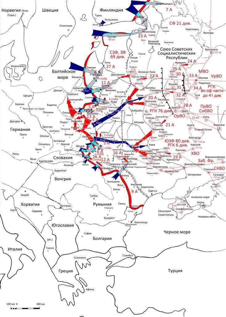 Кампания 1941 года: планы сторон и причины поражений