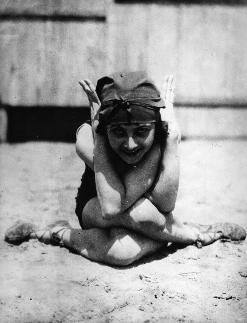 Гуттаперчевая девочка. интересное, прошлое, фото, цирк